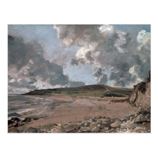 Weymouth Bay with Jordan Hill, c.1816 (oil on canv Postcard