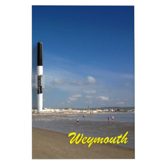 Weymouth Beach Dry-Erase Board