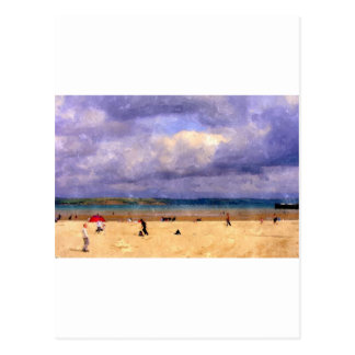 Weymouth Beach Postcard