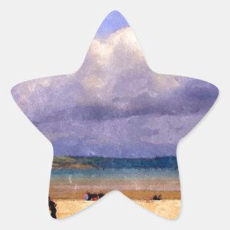 Weymouth Beach Star Stickers