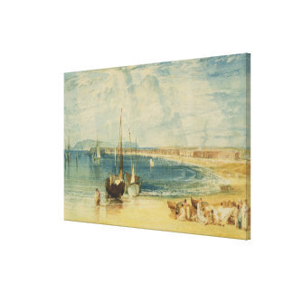 Weymouth, c.1811 (w/c on paper) gallery wrap canvas
