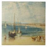 Weymouth, c.1811 (w/c on paper) ceramic tile