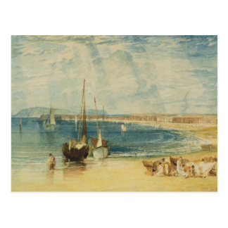 Weymouth, c.1811 (w/c on paper) postcard