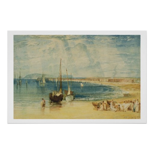 Weymouth, c.1811 (w/c on paper) poster