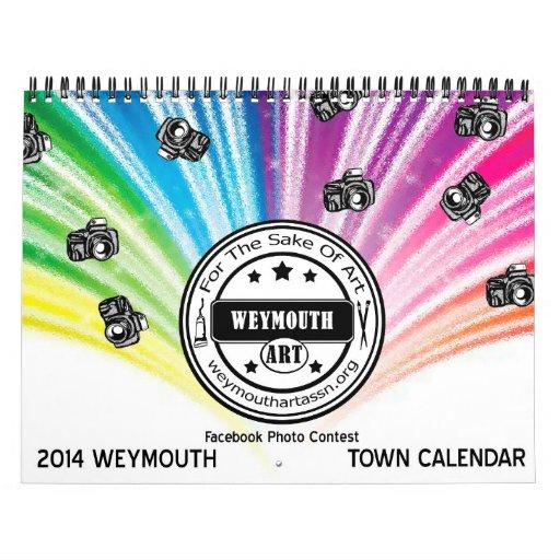 Weymouth, calendario 2014 de la ciudad del mA