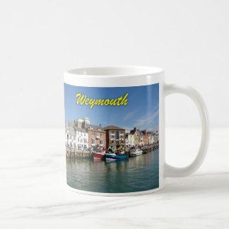 Weymouth - foto profesional taza básica blanca
