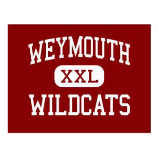 Weymouth - gatos monteses - alto - Weymouth Postales