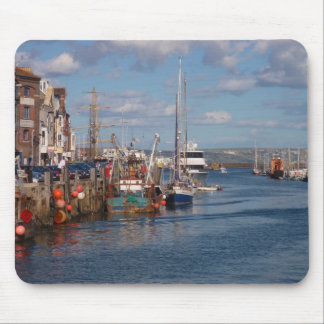 Weymouth Harbor Mouse Pad
