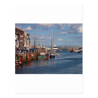 Weymouth Harbor Postcard