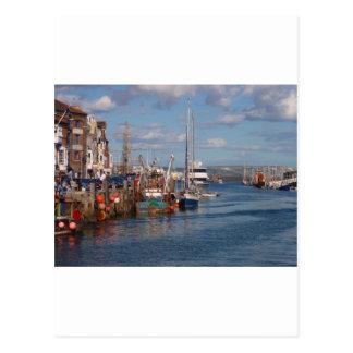 Weymouth Harbor Postcard