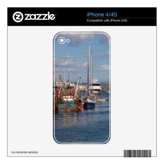 Weymouth Harbor iPhone 4 Decal