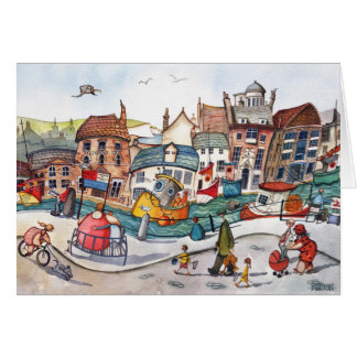 Weymouth harbour, Dorset Card