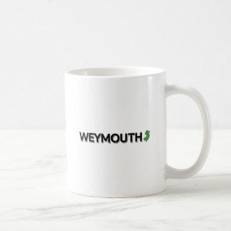 Weymouth, New Jersey Taza Básica Blanca