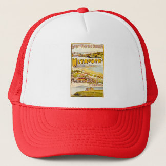 weymouth poster trucker hat
