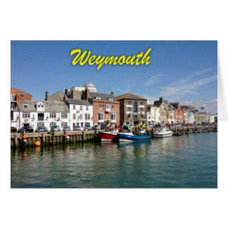 Weymouth - Professional photo. Card