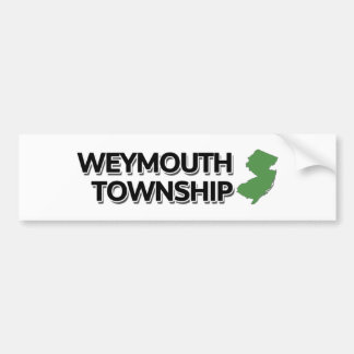 Weymouth Township, New Jersey Bumper Sticker