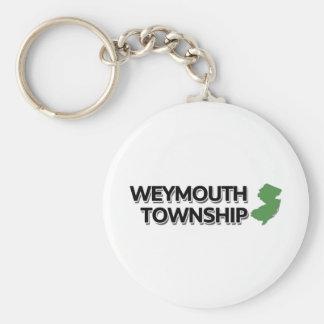 Weymouth Township, New Jersey Keychain
