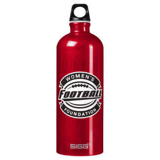 WFF Black & White Logo Aluminum Water Bottle
