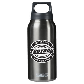 WFF Black & White Logo Insulated Water Bottle