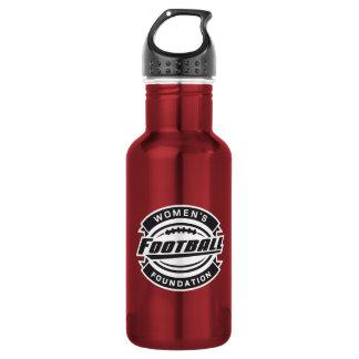 WFF Black & White Logo Stainless Steel Water Bottle