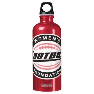WFF - pink Aluminum Water Bottle