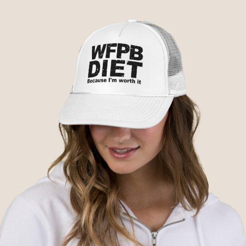 WFPB Iâm Worth It blk Trucker Hat