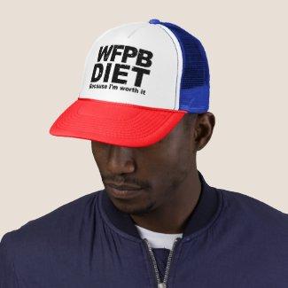 WFPB I'm Worth It (blk) Trucker Hat