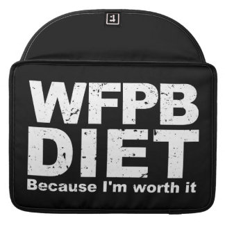 WFPB I'm Worth It (wht) Sleeve For MacBook Pro