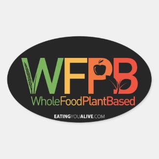 WFPB logo - dark sticker