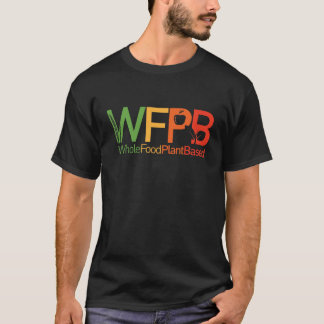 WFPB logo - dark t shirt