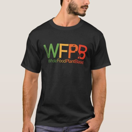 WFPB logo _ dark t shirt