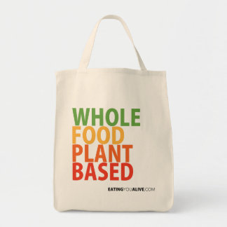 WFPB logo - Grocery Tote