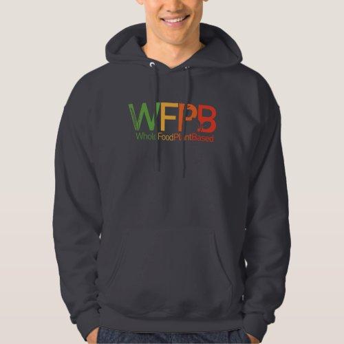 WFPB logo _ Hooded Sweatshirt grey