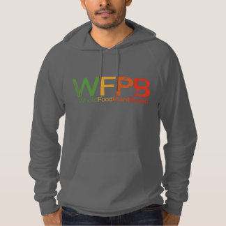 WFPB logo - Hooded Sweatshirt grey