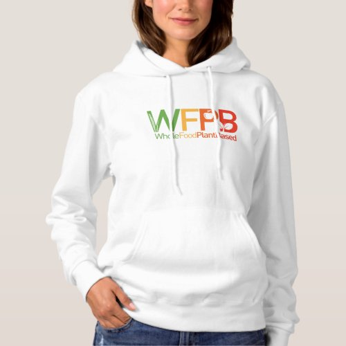 WFPB logo _ Hooded Sweatshirt light
