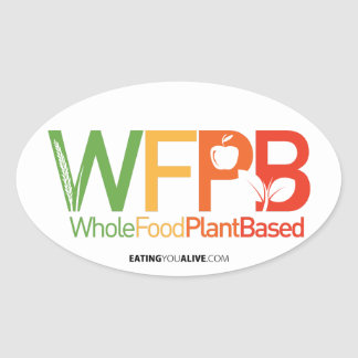 WFPB logo - light sticker