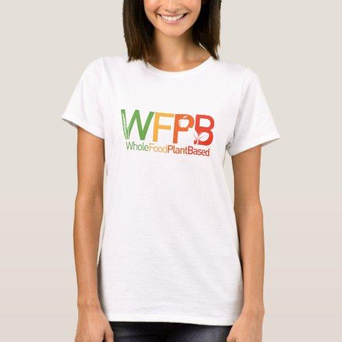 WFPB logo _ t shirt white