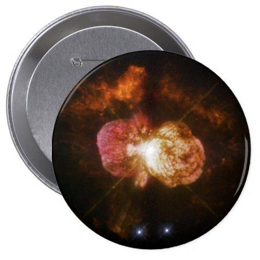WFPC2 Image of Eta Carinae Pinback Buttons