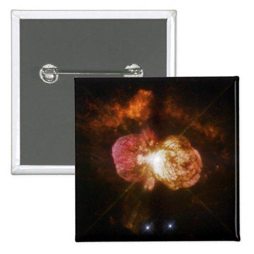 WFPC2 Image of Eta Carinae Pinback Button