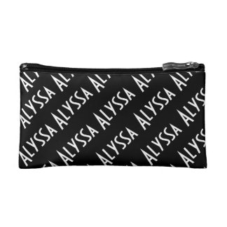 WGC Custom Name & Color Makeup Bag