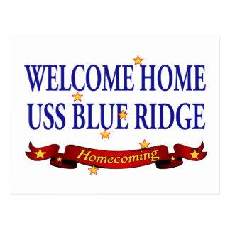 WH USS Blue Ridge 2 Postcard