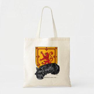 Wha escocés Hae - escocés y león desenfrenados Bolsa Tela Barata