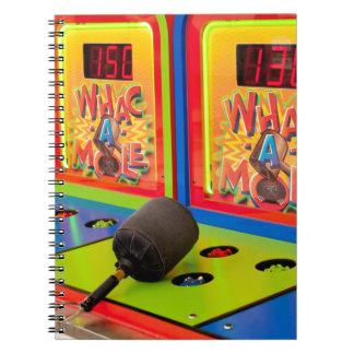 Whac A Mole Notebook