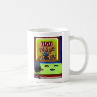 Whack a Mole Classic White Coffee Mug