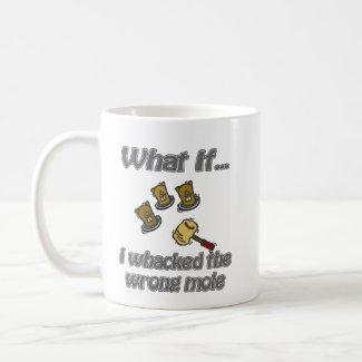 whack a mole mug