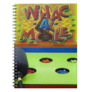 Whack a Mole Notebook