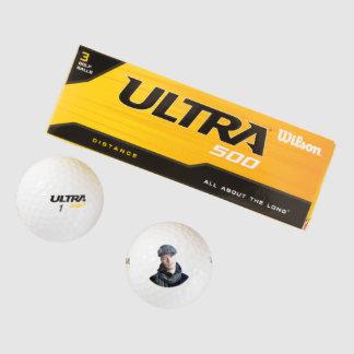 Whack An Ex Custom Photo Golf Balls