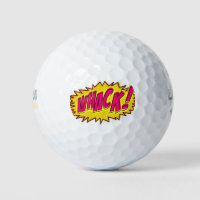 **WHACK** PERSONALIZED GOLF BALL