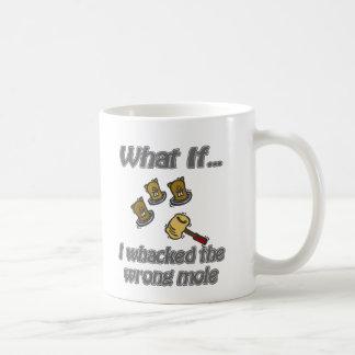 whack un topo taza