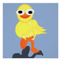 Whacky Bird Poster